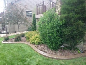 Concrete Edging & Landscaping Des Moines