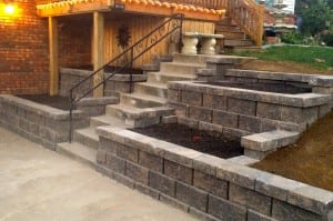 Retaining Wall Planter Boxes