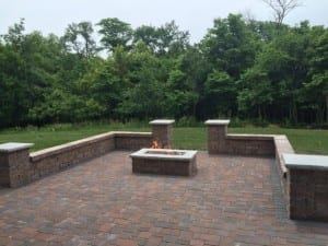 Patio With Gas Fire Table Des Moines